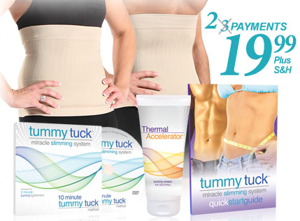 Whats included in the Tummy Tuck Slimming System